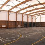 halle multisports du collège langevin-wallon rosny-sous-bois