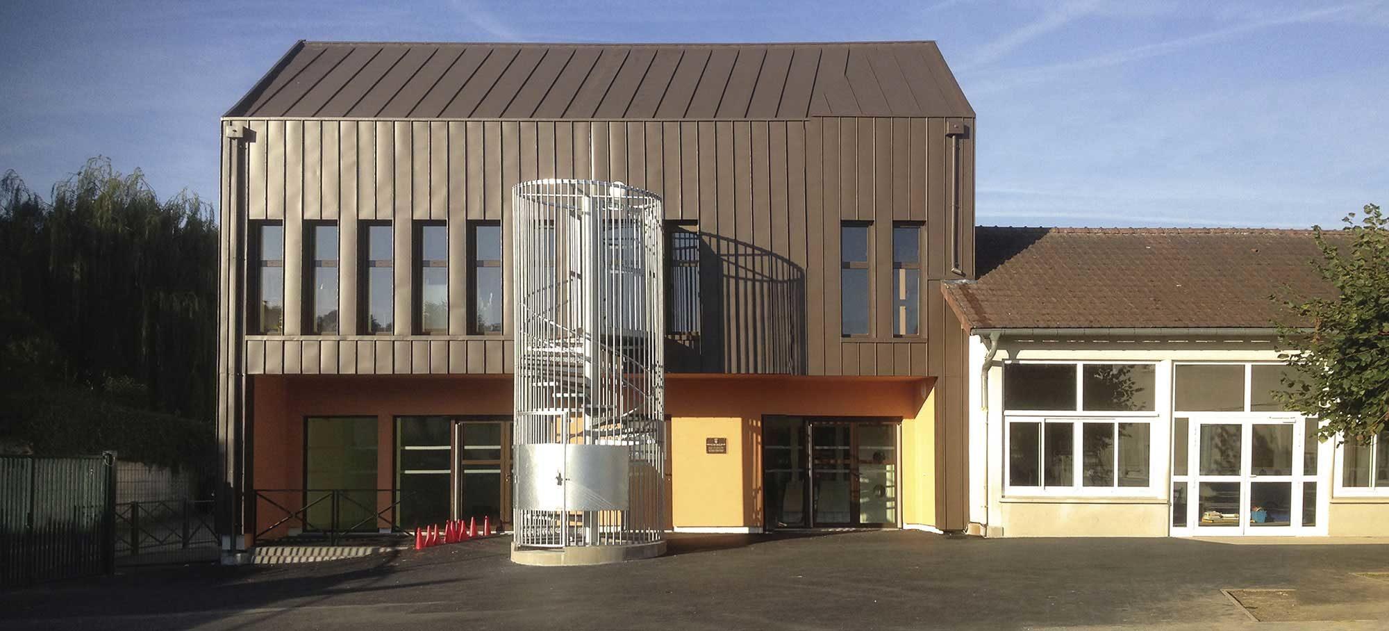 Extension école Ormeteau à Mennecy